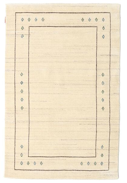 Gabbeh Indo Rug 120X180 Authentic  Modern Handknotted Beige/Dark Beige (Wool, India)