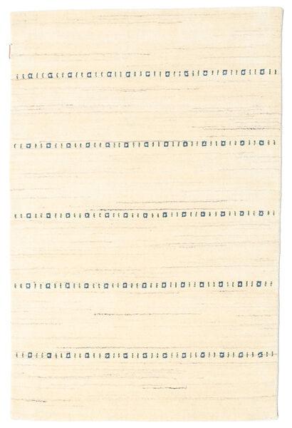 Gabbeh Indie Dywan 120X181 Nowoczesny Tkany Ręcznie Beżowy (Wełna, Indie)