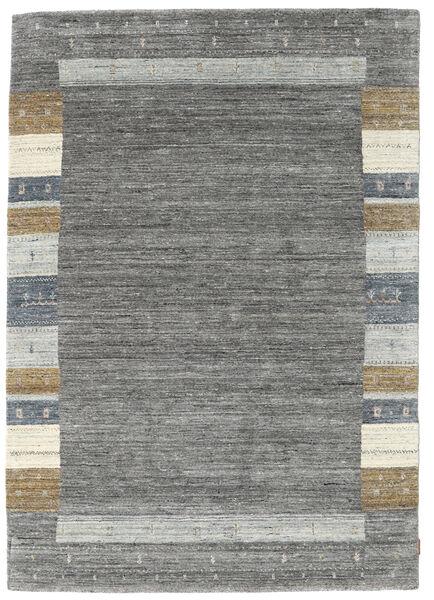 Gabbeh Indie Dywan 168X239 Nowoczesny Tkany Ręcznie Ciemnoszary/Jasnoszary (Wełna, Indie)