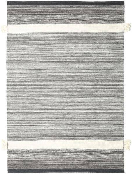 Fenix - Black Rug 250X350 Authentic  Modern Handwoven Light Grey/Beige Large (Wool, India)
