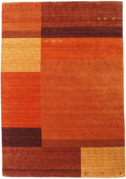Gabbeh Indie Dywan 170X241 Nowoczesny Tkany Ręcznie Pomarańczowy/Rdzawy/Czerwony (Wełna, Indie)