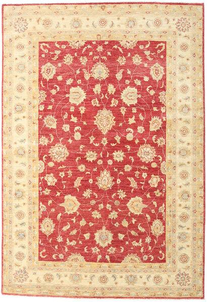 Ziegler Rug 172X252 Authentic  Oriental Handknotted Beige/Light Pink (Wool, Pakistan)