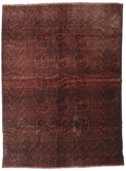 Beludż Dywan 200X277 Orientalny Tkany Ręcznie Ciemnoczerwony/Ciemnobrązowy (Wełna, Afganistan)