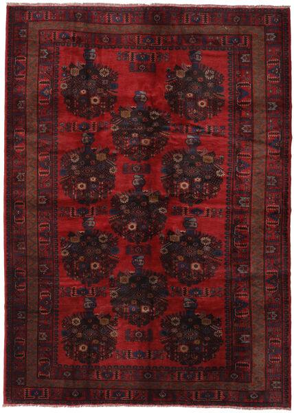 Beludż Dywan 213X300 Orientalny Tkany Ręcznie Ciemnoczerwony/Ciemnobrązowy (Wełna, Afganistan)