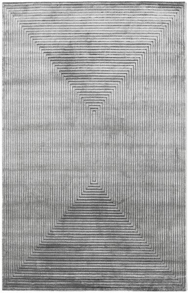 Illusion - Grau Teppich  200X300 Moderner Hellgrau/Dunkelgrau ( Türkei)
