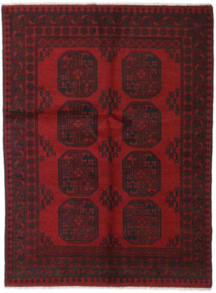 Afgan Dywan 141X187 Orientalny Tkany Ręcznie Ciemnoczerwony/Ciemnobrązowy (Wełna, Afganistan)
