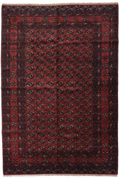 Beludż Dywan 195X290 Orientalny Tkany Ręcznie Ciemnobrązowy/Ciemnoczerwony (Wełna, Afganistan)