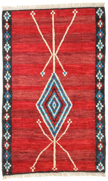 Barchi/Moroccan Berber - Afganistan Vloerkleed 118X187 Echt Modern Handgeknoopt Roestkleur/Rood (Wol, Afghanistan)