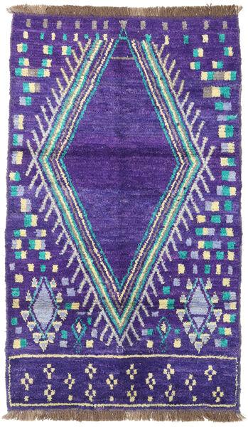 Barchi/Moroccan Berber - Afganistan Matto 115X195 Moderni Käsinsolmittu Violetti/Vaaleanvioletti (Villa, Afganistan)