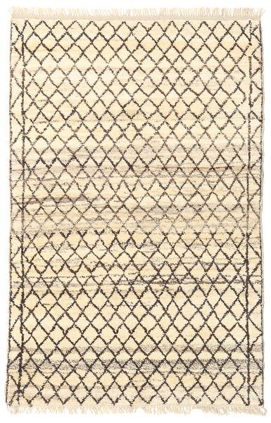 Barchi/Moroccan Berber - Afganistan Matto 116X179 Moderni Käsinsolmittu Beige/Vaaleanharmaa (Villa, Afganistan)