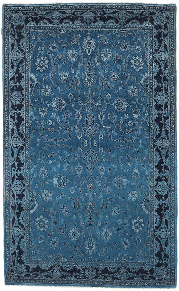 Gabbeh Loribaft Rug 142X234 Authentic  Modern Handknotted Dark Blue/Blue (Wool, India)