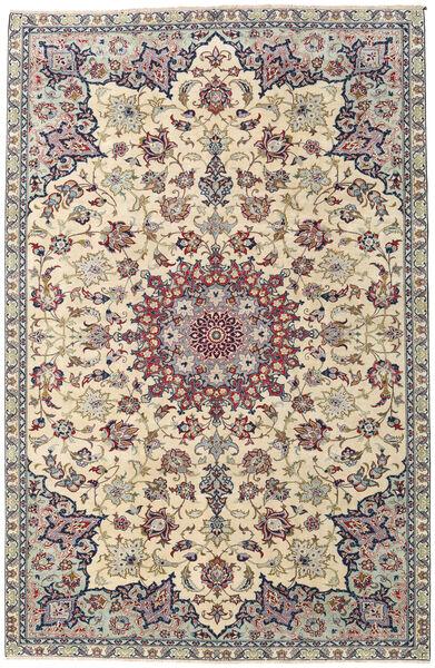 Najafabad Patina Teppe 215X330 Ekte Orientalsk Håndknyttet Lys Grå/Beige (Ull, Persia/Iran)