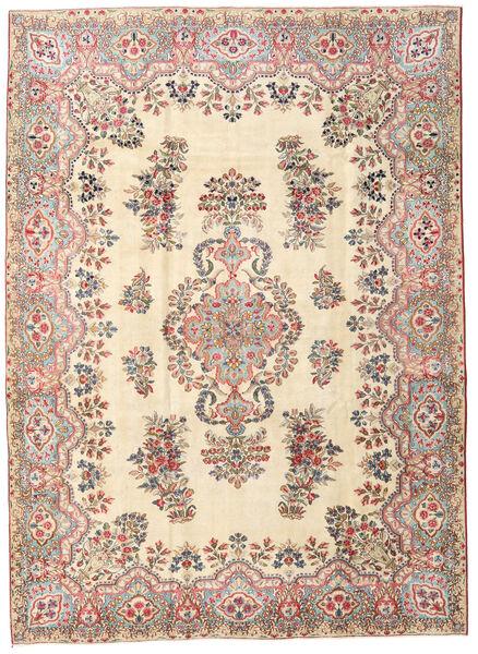 Kerman Patina Dywan 215X297 Orientalny Tkany Ręcznie Beżowy (Wełna, Persja/Iran)