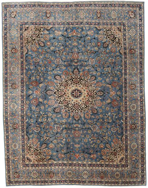 Mashad Patina Matto 295X380 Itämainen Käsinsolmittu Tummanharmaa/Vaaleanruskea Isot (Villa, Persia/Iran)