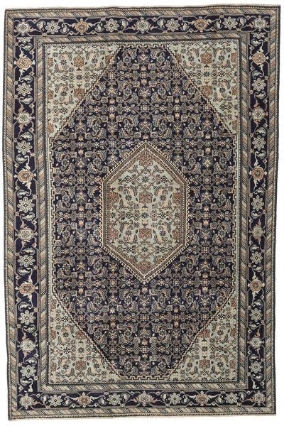 Ardebil Patina Teppe 200X300 Ekte Orientalsk Håndknyttet Lys Grå/Mørk Grå (Ull, Persia/Iran)