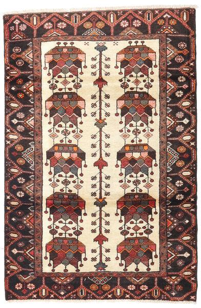Saveh Matto 112X167 Itämainen Käsinsolmittu Tummanpunainen/Tummanruskea (Villa, Persia/Iran)