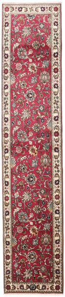 タブリーズ 絨毯 83X395 オリエンタル 手織り 廊下 カーペット 薄い灰色/ベージュ (ウール, ペルシャ/イラン)