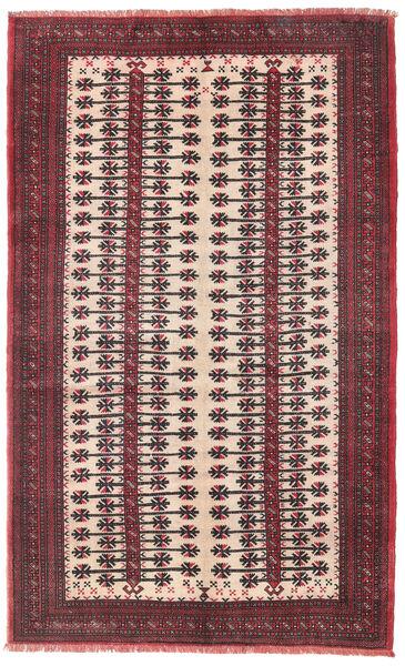 Beluch Tæppe 120X192 Ægte Orientalsk Håndknyttet Mørkebrun/Mørkelilla (Uld, Persien/Iran)