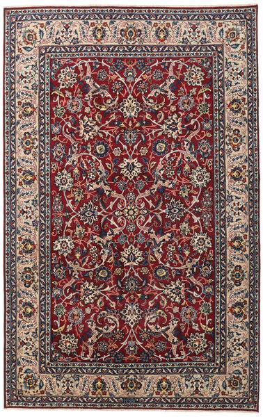 Yazd Patina Rug 198X312 Authentic  Oriental Handknotted Dark Brown/Dark Red (Wool, Persia/Iran)