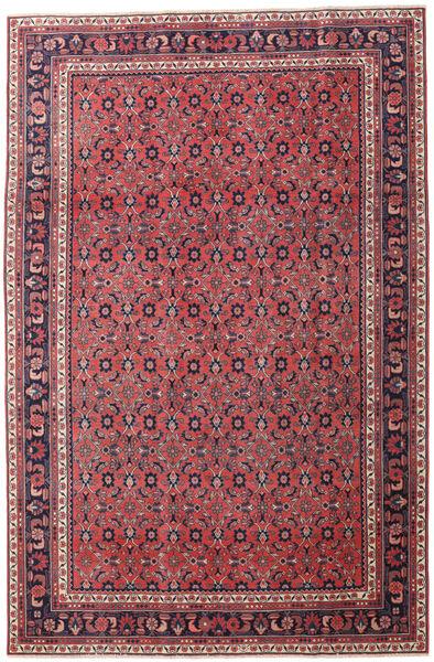 Wiss Patina Teppe 205X307 Ekte Orientalsk Håndknyttet Mørk Lilla/Rød (Ull, Persia/Iran)