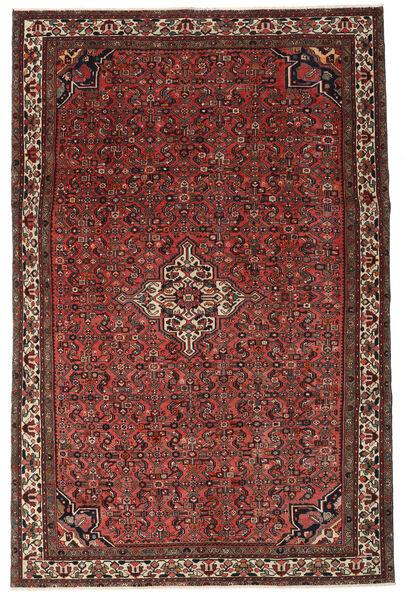 Hosseinabad Patina Rug 214X326 Authentic  Oriental Handknotted Dark Red/Dark Brown (Wool, Persia/Iran)