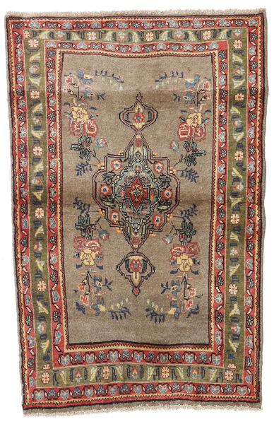 Koliai Tappeto 90X140 Orientale Fatto A Mano Marrone Chiaro/Grigio Chiaro (Lana, Persia/Iran)