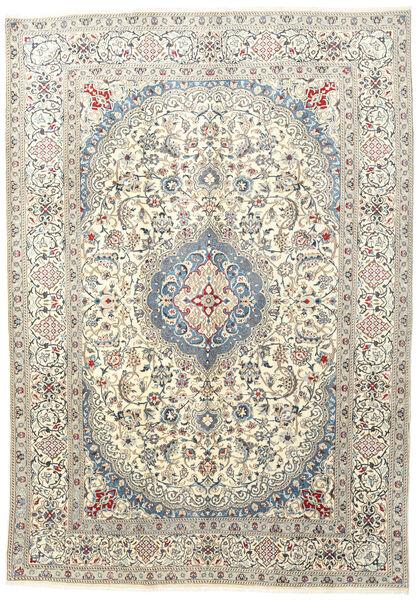 Nain Matto 233X333 Itämainen Käsinsolmittu Beige/Vaaleanharmaa (Villa, Persia/Iran)
