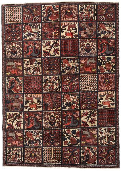 Bakhtiari Patina Rug 182X255 Authentic  Oriental Handknotted Dark Red/Black (Wool, Persia/Iran)