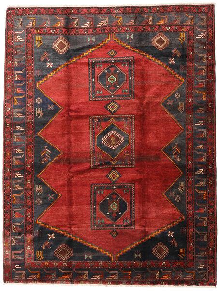 Klardasht Teppich  230X300 Echter Orientalischer Handgeknüpfter Dunkelrot/Dunkelbraun (Wolle, Persien/Iran)