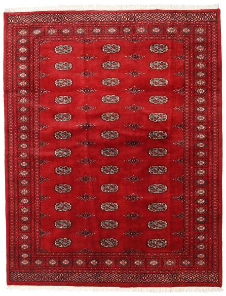 Pakistan Bukara 3Ply Alfombra 168X214 Oriental Hecha A Mano Roja/Rojo Oscuro (Lana, Pakistán)