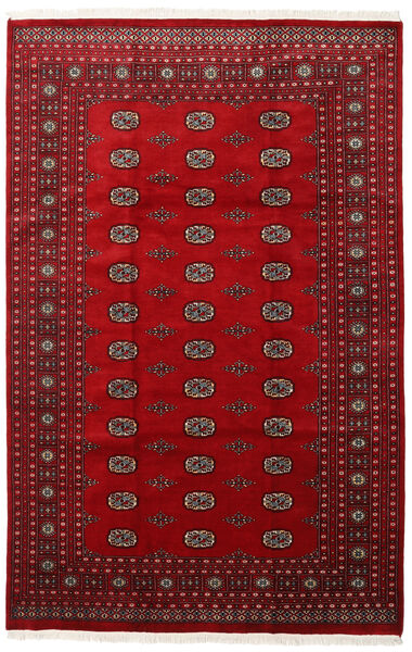 Pakistan Bokhara 2Ply Rug 201X309 Authentic  Oriental Handknotted Crimson Red/Dark Red (Wool, Pakistan)
