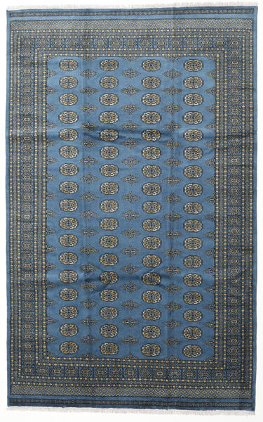 Pakistan Bokhara 2Ply Rug 199X315 Authentic  Oriental Handknotted Dark Blue/Light Blue (Wool, Pakistan)