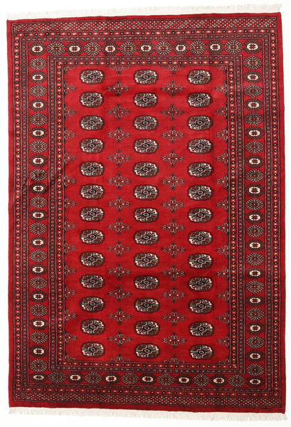 Pakistan Bokhara 2Ply Teppe 166X239 Ekte Orientalsk Håndknyttet Mørk Rød/Rød (Ull, Pakistan)