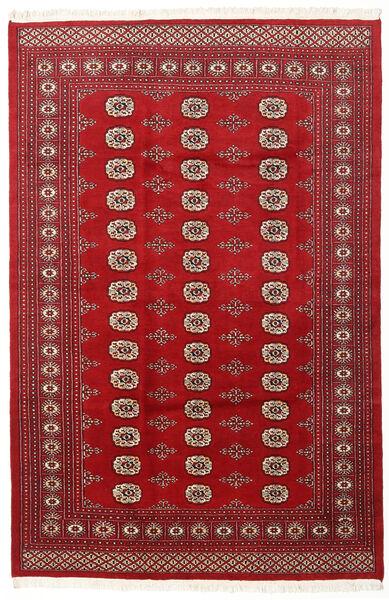 Pakistański Bucharski 2Ply Dywan 167X250 Orientalny Tkany Ręcznie Ciemnoczerwony/Czerwony (Wełna, Pakistan)