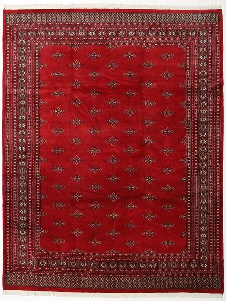 Pakistan Bokhara 2Ply Vloerkleed 247X310 Echt Oosters Handgeknoopt Donkerrood/Rood (Wol, Pakistan)
