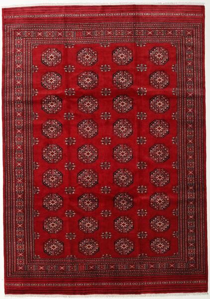 Pakistan Bokhara 3Ply Rug 247X352 Authentic  Oriental Handknotted Crimson Red/Dark Red (Wool, Pakistan)