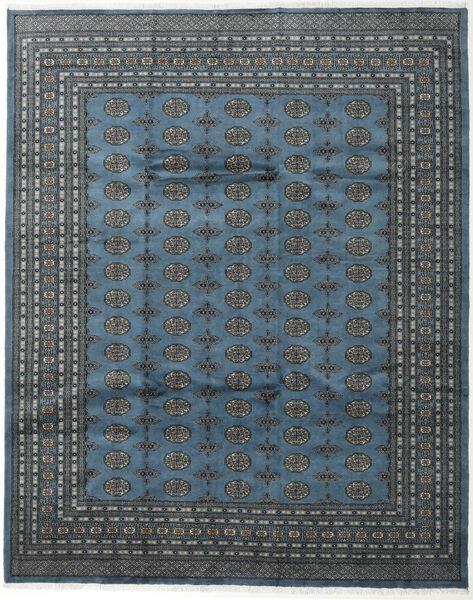 Pakistan Bokhara 2Ply Vloerkleed 248X308 Echt Oosters Handgeknoopt Donkerblauw/Donkergrijs (Wol, Pakistan)