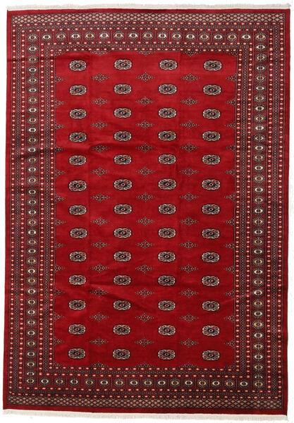 Pakistan Bokhara 2Ply Vloerkleed 246X352 Echt Oosters Handgeknoopt Rood/Donkerrood (Wol, Pakistan)