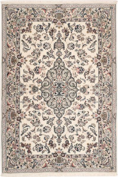 Ilam Sherkat Farsh Silk Rug 110X163 Authentic  Oriental Handknotted Light Grey/Beige (Wool/Silk, Persia/Iran)