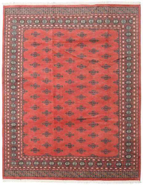 Pakistan Bokhara 2Ply Rug 199X251 Authentic  Oriental Handknotted Rust Red/Crimson Red (Wool, Pakistan)