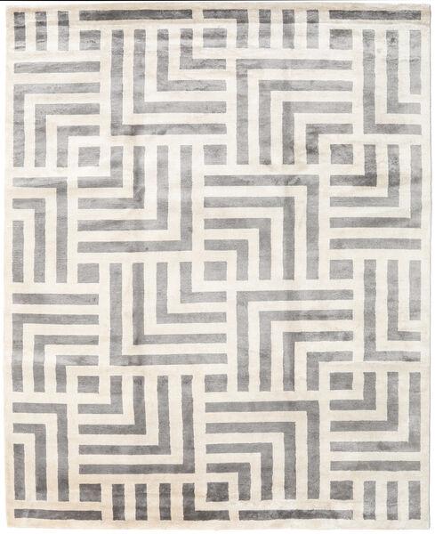 Maze 絨毯 250X300 モダン 手織り ベージュ/薄い灰色 大きな ( インド)
