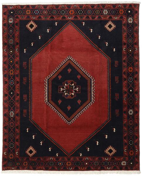 Klardasht Teppich  200X242 Echter Orientalischer Handgeknüpfter Dunkelbraun/Dunkelrot (Wolle, Persien/Iran)