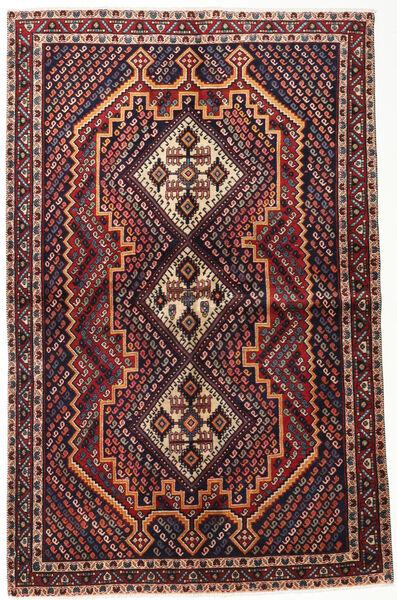 Afszar Shahre Babak Dywan 148X235 Orientalny Tkany Ręcznie Ciemnoczerwony/Ciemnobrązowy (Wełna, Persja/Iran)