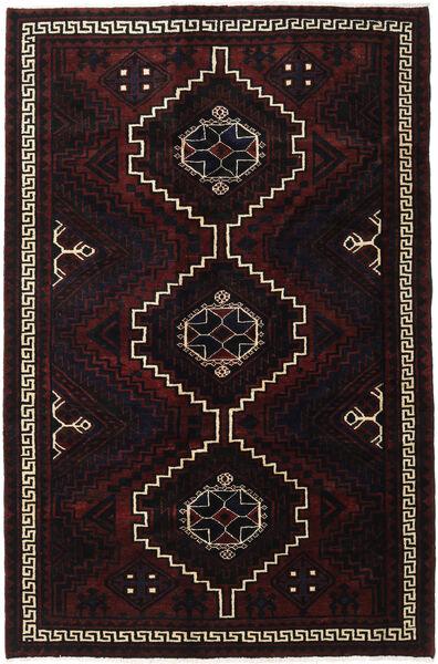 Lori Rug 166X256 Authentic  Oriental Handknotted Dark Brown/Dark Red (Wool, Persia/Iran)