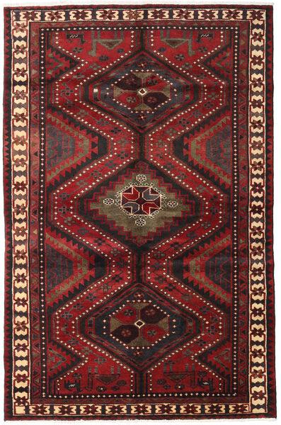Lori Tapis 161X248 D'orient Fait Main Rouge Foncé/Noir (Laine, Perse/Iran)