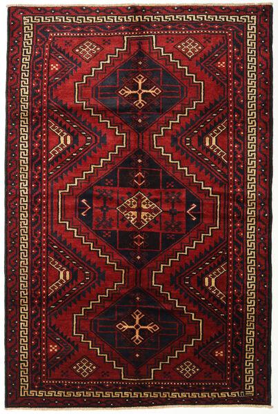Lori Rug 185X275 Authentic  Oriental Handknotted Dark Red (Wool, Persia/Iran)