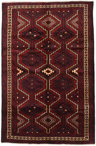 Lori Rug 172X270 Authentic  Oriental Handknotted Dark Brown/Dark Red (Wool, Persia/Iran)