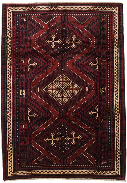Lori Tappeto 190X270 Orientale Fatto A Mano Marrone Scuro/Rosso Scuro (Lana, Persia/Iran)