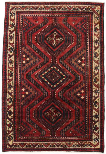 Lori Rug 180X265 Authentic  Oriental Handknotted Dark Red/Black (Wool, Persia/Iran)