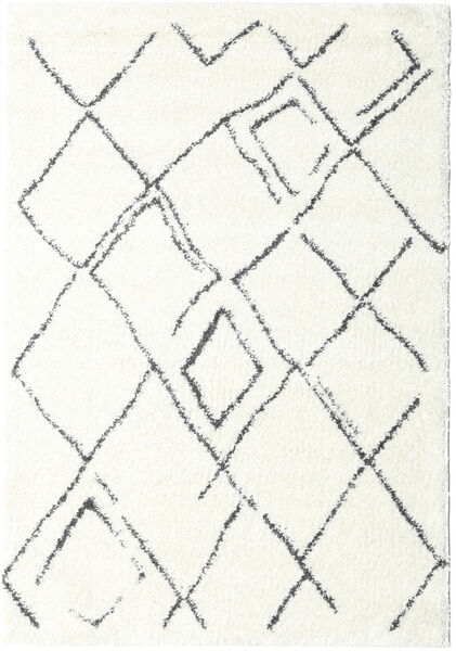 Shaggy Medina Everyday Rug 160X230 Modern White/Creme/Beige ( Turkey)